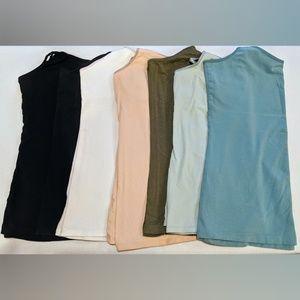 Basic Camisole Lot (7) | Size L/XL